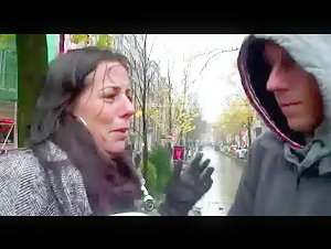 Female host gets tourist a blond whore for his visit to Amsterdam